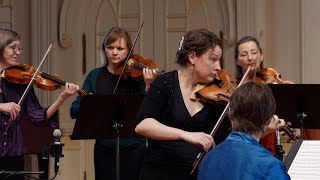 Vivaldi Four Seasons: Summer (L'Estate), complete; Cynthia Freivogel & Voices of Music,  RV 315 4K