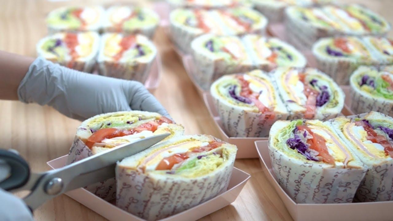 Download 카페에서 판매하는 맛있는 샌드위치 만들기 / 레시피포함 / 재료 다 알려줌  Ham cheese Sandwich :: 지니 Jiny