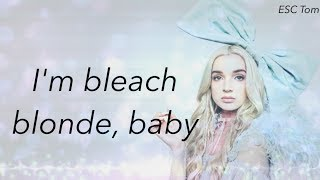 Poppy - Bleach Blonde Baby (Lyrics)