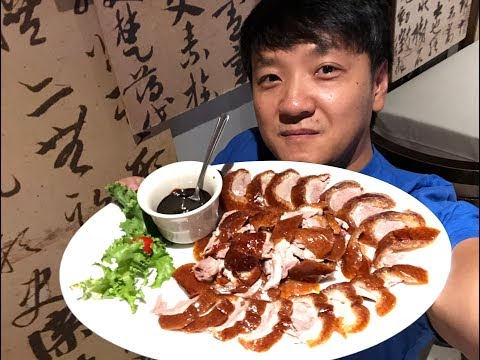 Eating ENTIRE Peking Duck & WEIRD Birthday Tradition