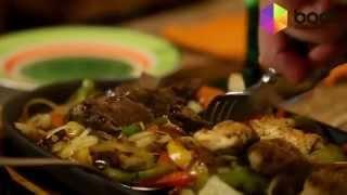 Ужин в мексиканском ресторане