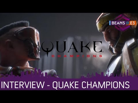 BEANS@E3 2016 | Quake Champions - Interview mir Tim Willits von ID Software | 16.06.2016