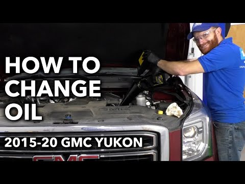 How to Change Oil Yourself on GMC Yukon 4th Generation 2015-20