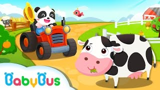 Baby Panda's Farm   Game Preview   Educational Games for kids   BabyBus