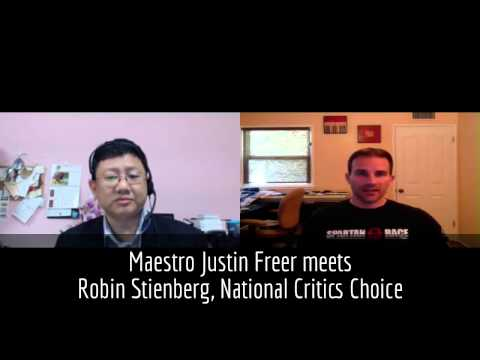Maestro Justin Freer for Lord of the Rings meets Robin Stienberg, National Critics Choice