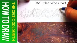 How To Draw Celtic Animals 7 - Wolf Knot Staffordshire 2of4
