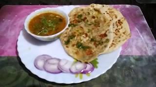 Tasty Aloo ke Kulche / Jhatpat banaye aisi Indian recipe jo sabko pasand aye / Indian Thali