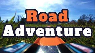 Road Adventure - Hot Wheels Gopro on board Driving Series | Diecast Racing | POV |