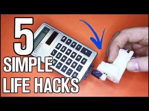 5 simple life hacks ideas youtube. Black Bedroom Furniture Sets. Home Design Ideas