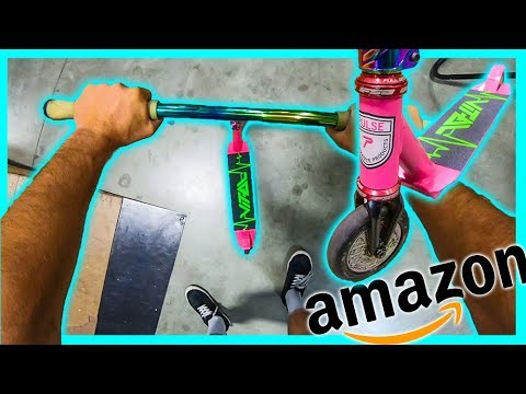 Rebuilding CHEAPEST AMAZON Scooter with Pro Scooter Parts!