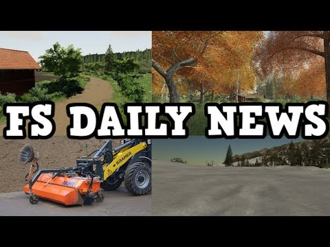SUSSEX FARM, PLATINUM RELEASE TIME, PLUS MODS IN TESTING | FS DAILY NEWS | Farming Simulator 19