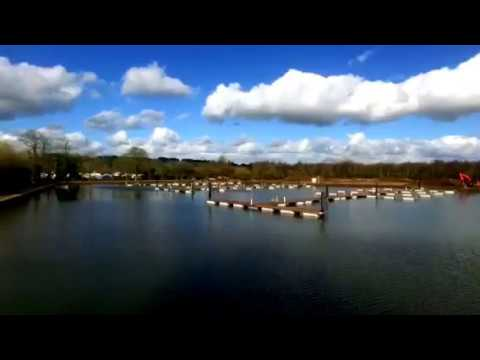 Greenford Project: Harleyford Marina in progress - aerial drone