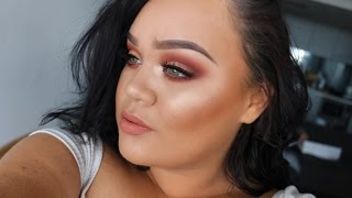PEACH MONOCHROMATIC Makeup Tutorial ft. Kylie Cosmetics