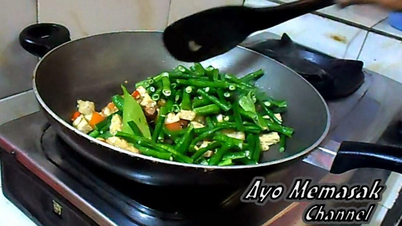 resep dan cara memasak tumis kacang panjang doovi