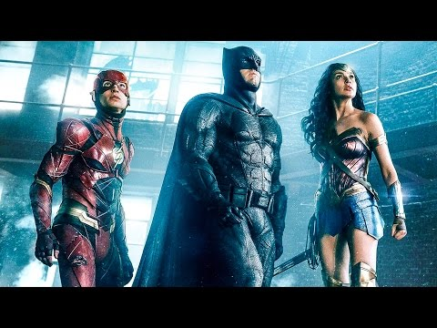 JUSTICE LEAGUE Trailer (Ultra HD 4K - 2017)