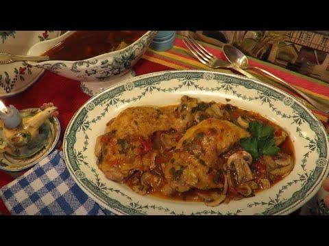 recette-:-cuisses-de-poulet-marengo-en-cocotte-mère-mitraille---canal-gourmandises