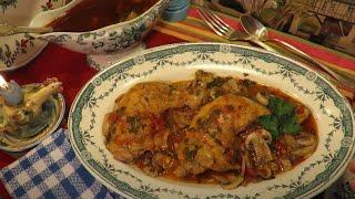 RECETTE : Cuisse de Poulet MARENGO en Cocotte Mère Mitraille