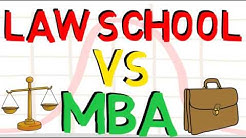 Law School vs MBA - Which one is Better? (JD vs MBA)