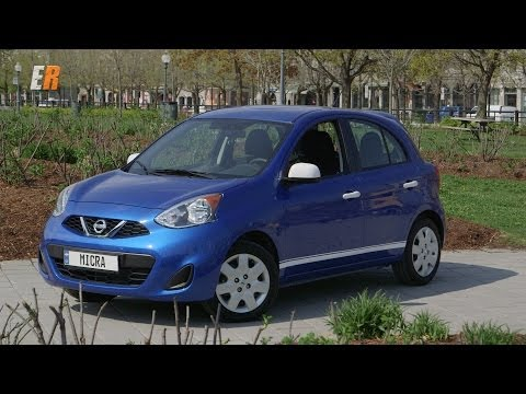 2015 Nissan Micra Review - Test Drive Montreal Canada