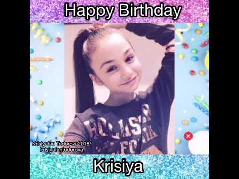 Happy 16th Birthday Krisia