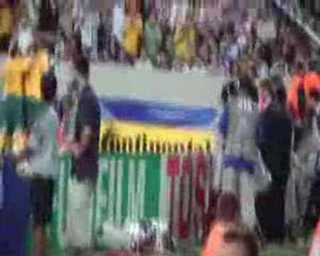 Australia  vs Croatia craig moore taken  penalty live!!