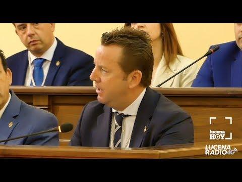 Intervención Francisco Javier Aguilar (PP) en el pleno de constitución de la nueva corporación