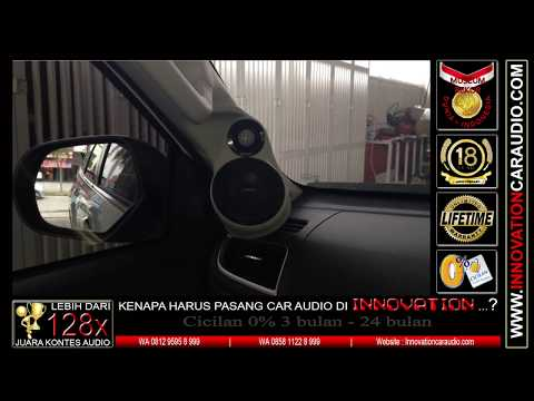 Paket audio mobil Pajero | 1 hari pengerjaan | Innovation car audio Jakarta