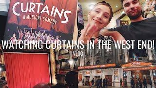 CURTAINS THE MUSICAL WEST END THEATRE TRIP & REVIEW | Georgie Ashford