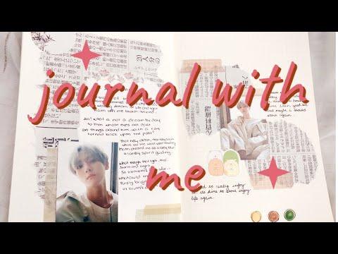 Journal With Me #5 (soft Music + Rain)