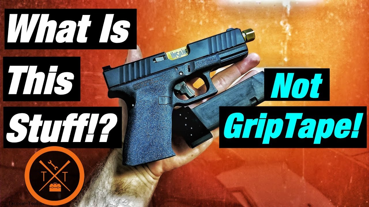 💥The Secret Of Silicon Carbide Grip Glock 19!!