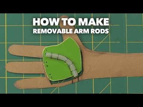How to make Removable Arm Rods!