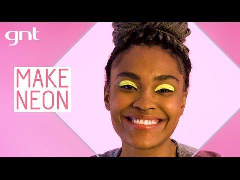 Maquiagem neon para o Carnaval e festas de dia | Tô Pronta | Beleza