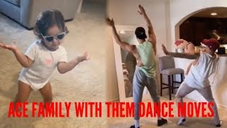 THE ACE FAMILY FUNNIEST DANCE MOMENTS