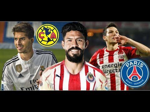 América va por jugador del Madrid/Oribe Peralta fichaje BOMBA de Chivas/PSG se lanza por el Chucky