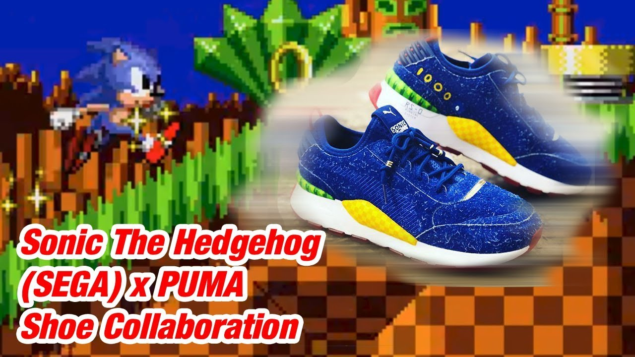 1bde64fd34eb03 The Sonic The Hedgehog RS- 0 (Sega) x PUMA Shoe Collaboration - YouTube