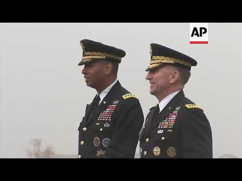 General Vincent Brooks Hands Over Command Of US Forces Korea