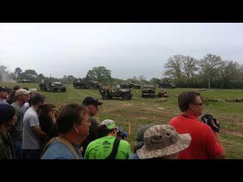Museum Of The American G.I. Tank Reenactment 2013