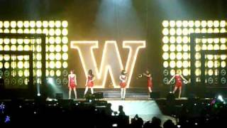 Wonder Girls- Nobody @ Live In HK 2010