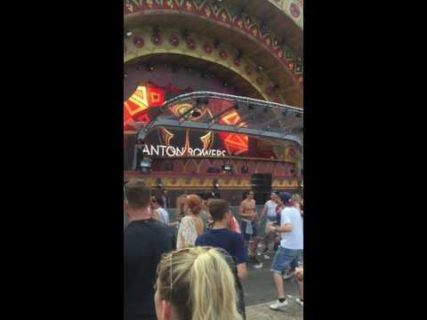 Tomorrowland 2016 Anton power opera stage
