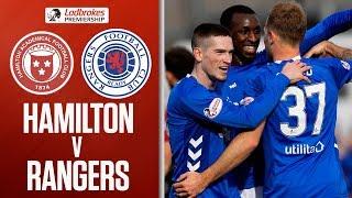 Hamilton 0-5 Rangers | Rangers Keep Pace With Comfortable Victory | Ladbrokes Premiership