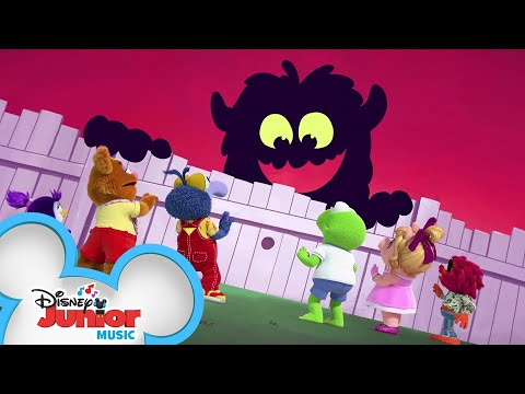 Must Be A Monster 👾 | Music Video | Muppet Babies | Disney Junior