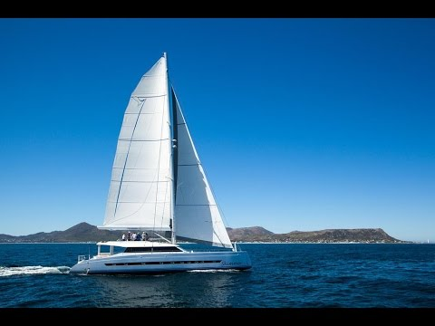 A walk around the Open Ocean 740 Performance Cruising Catamaran