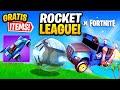 GRATIS SKINS! Rocket League Kostenlos & Fortnite Herausforderungen! Update in Fortnite Deutsch