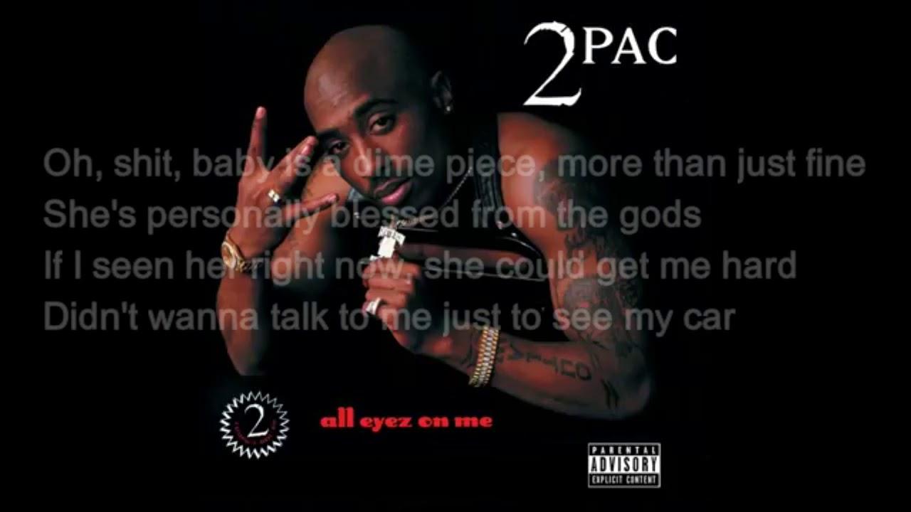 2pac whatz ya phone number lyrics - YouTube