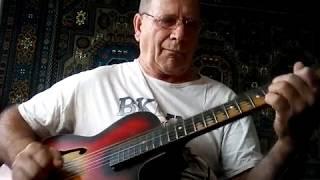Ю  Жиро Вальс Под небом Парижа. Легкая обработка для гитары.