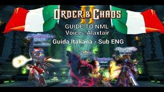 Guida vocale dettagliata di NML con sottotitoli in inglese. Order&C...