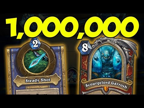 [Hearthstone] ONE MILLION DAMAGE HERO POWER EXPLOIT?! | Knights of The Frozen Throne