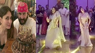 Saif Ali Khan's Daughter Sara Ali Khan's Amazing Dance At Saif's Birthday Party Inside Mumbai House