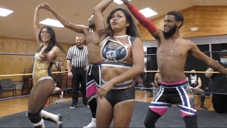 The Sea Stars vs. Waves & Curls - Limitless Wrestling (The Road, NWA, Shimmer, Intergender Tag Team)