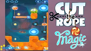 Cut the Rope Magic - Daily Challenges July, 1 2016 (3 stars, 1 star, 2 stars)
